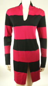 Tommy-Hilfiger-Pullover-Sweater-Schwarz-Rosa-Gr-M