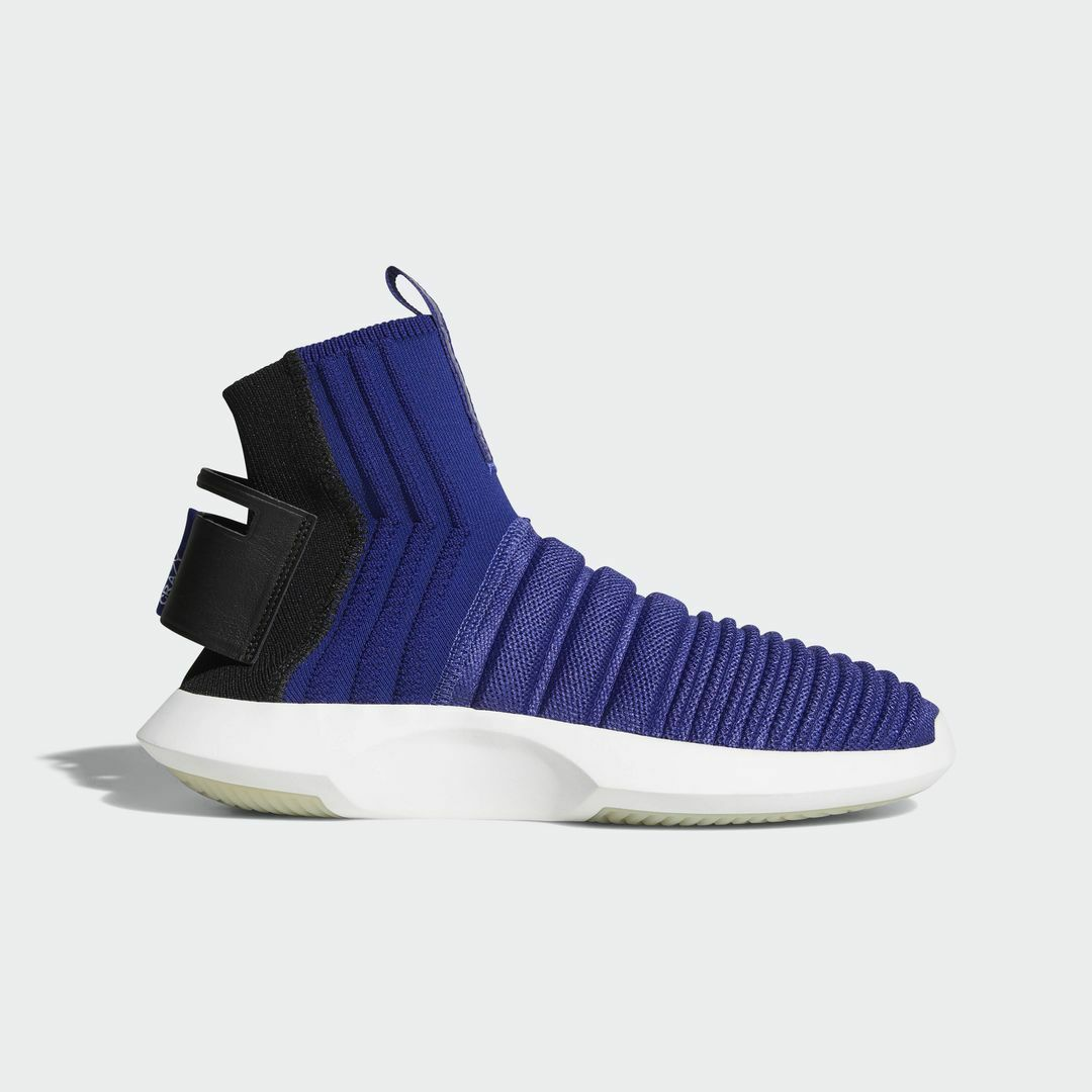Adidas Crazy 1 Adv Sock PK Real Purple / CQ1011 / Men's Primeknit Textile Black