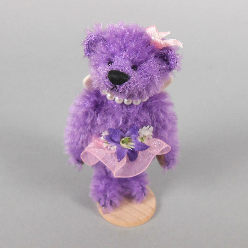 Deb Canham Tinkerbell Mohair Bear 2011 Convention Prize