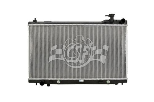 Radiator-1 Row Plastic Tank Aluminum Core CSF 2983 fits 03-07 Infiniti G35