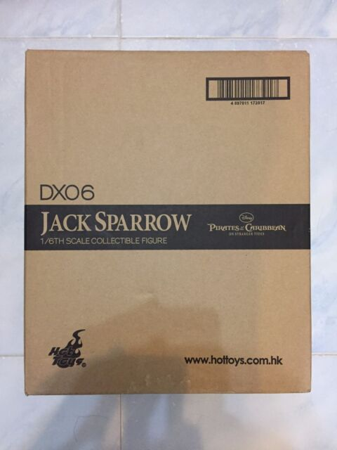 Hot Toys DX06 DX 06 Pirates of the Caribbean Jack Sparrow (Normal Version) OPEN