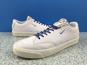 daaf505767d85 Nike SB Blazer Low XT QS Quartersnacks White Blue Sail AQ3499-141 ...