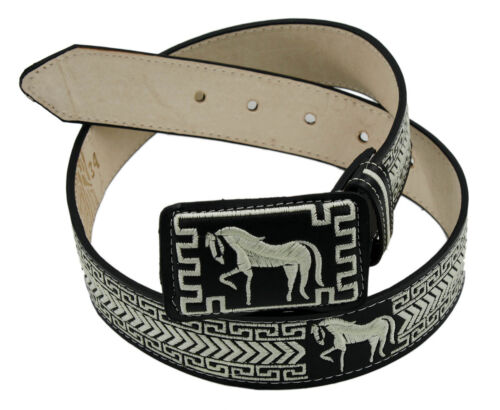 Unisex Genuine Cowhide leather Belt Cinto Borado Style 13132