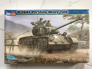 HOBBY BOSS 1  35 WW II U.S. ARMY M26A1 PERSHING HEJA TANK modellllerL KIT F  S