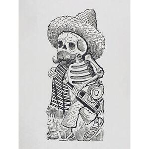 Posada-Madero-Calavera-Skull-Skeleton-Mexican-XL-Canvas-Art-Print