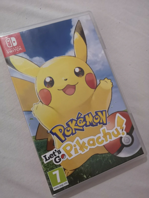 Pokémon Let's Go Pikachu!, Nintendo Switch, adventure,…
