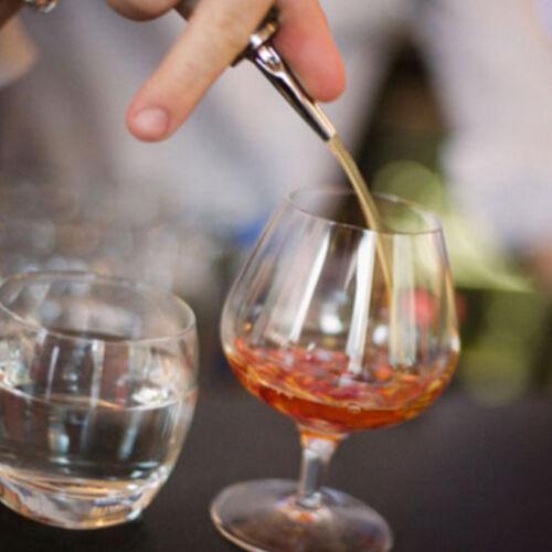 Whisky Liquor Wine Oil Bottle Pourer Stopper Pour Spout Dispenser with Cap