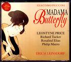 PUCCINI: MADAMA BUTTERFLY Leontyne Price Richard Tucker Elias LEINSDORF 2CD 1962