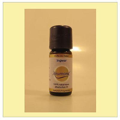 (112,50/100ml) Neumond Ingweröl 100% naturreines ätherisches Öl Ingwer 10 ml