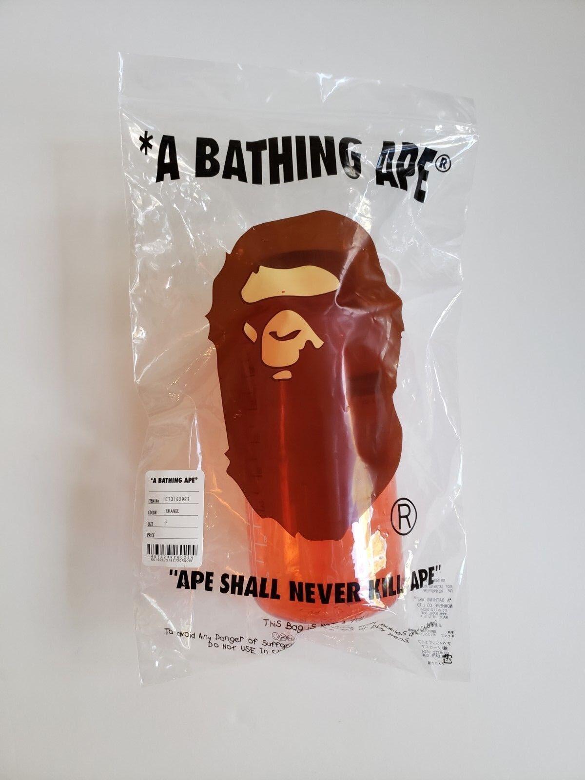 BATHING APE BAPE FW 2018 NALGENE 1.0 TRITAN arancia WATER BOTTLE ISNT NORTH