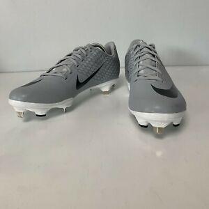 NWT-Nike-Lunar-Vapor-Ultrafly-Elite-2-034-Wolf-Grey-034-Baseball-Cleats-Size-10-5