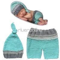 Neugeborenes Baby Kleid Handarbeit Häkel Kostüm Baby Outfit Kostüm Fotoshooting