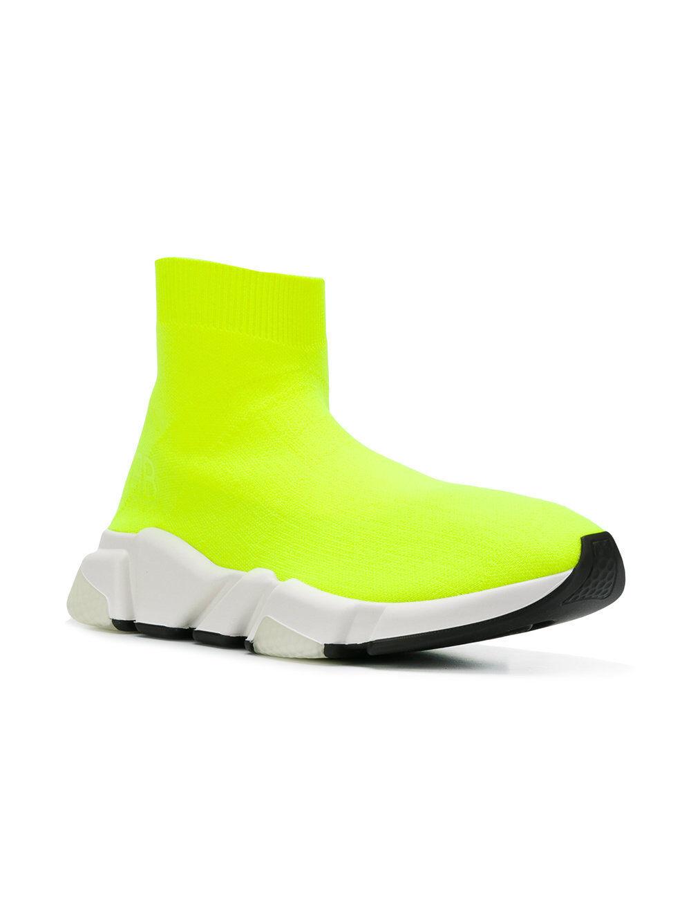 Balenciaga velocidad Calcetín Para Para Para Mujer Zapatillas Mid Neon Amarillo blancoo  hasta 60% de descuento
