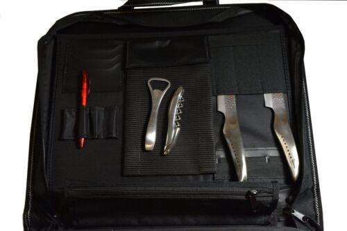 und Kochzubehörtasche Profimessertasche mit 2 Fächern Global G-667//PRO Messer