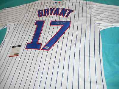 SIGNED KRIS BRYANT AUTOGRAPHED JERSEY