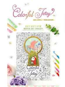 Image Is Loading Colorful Jetoy Coloring Book Cute Choo Cat