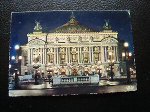 Francia-Tarjeta-Postal-Paris-La-Opera-Ilumina-1972-cy27-Francesa