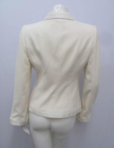 Ivory Label Giorgio Armani Small Black Size Textured Silk 40 Cotton Giubbotto xt4IqCwBt