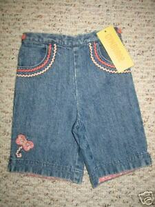 """Smart Gg162 Nwt 6-12 Mo Gymboree """"made With Love"""" Denim Pants Reputation First Clothing, Shoes & Accessories Girls' Clothing (newborn-5t)"""