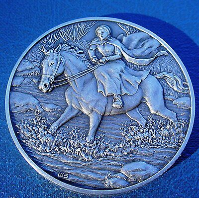 Great Women DAR Medal MARGARET CATHERINE MOORE BARRY American Revolutionary War