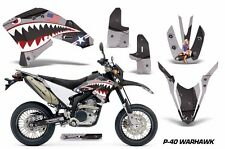 AMR Racing Yamaha Graphic Kit Bike Decal WR250 R/X Decal MX Parts 07-15 WARHWK K