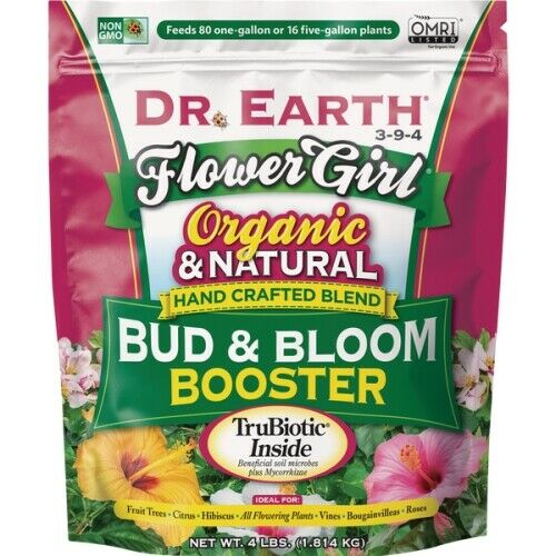 Dr. Earth Flower Girl Bud & Bloom Organic Dry Plant Food