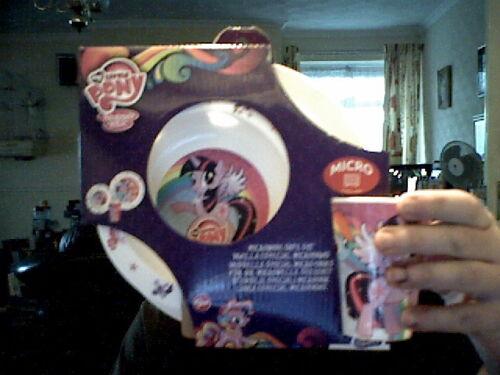 assiette et tasse Parfait Cadeau D/'Anniversaire Mon petit poney petit déjeuner Set bol