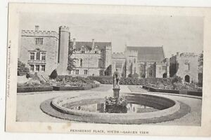 Penshurst Place South Garden View Vintage Postcard 277a - Aberystwyth, United Kingdom - Penshurst Place South Garden View Vintage Postcard 277a - Aberystwyth, United Kingdom