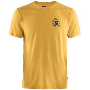 Fjäll Räven 1960 Logo Herren-Funktionsshirt Tee-Shirt Randonnée Extérieur Neuf