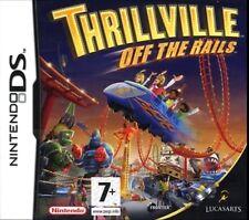 THRILLVILLE OFF THE RAILS KIDS  GAME DS DS DS LITE 3DS 2DS DSI 3DS XL