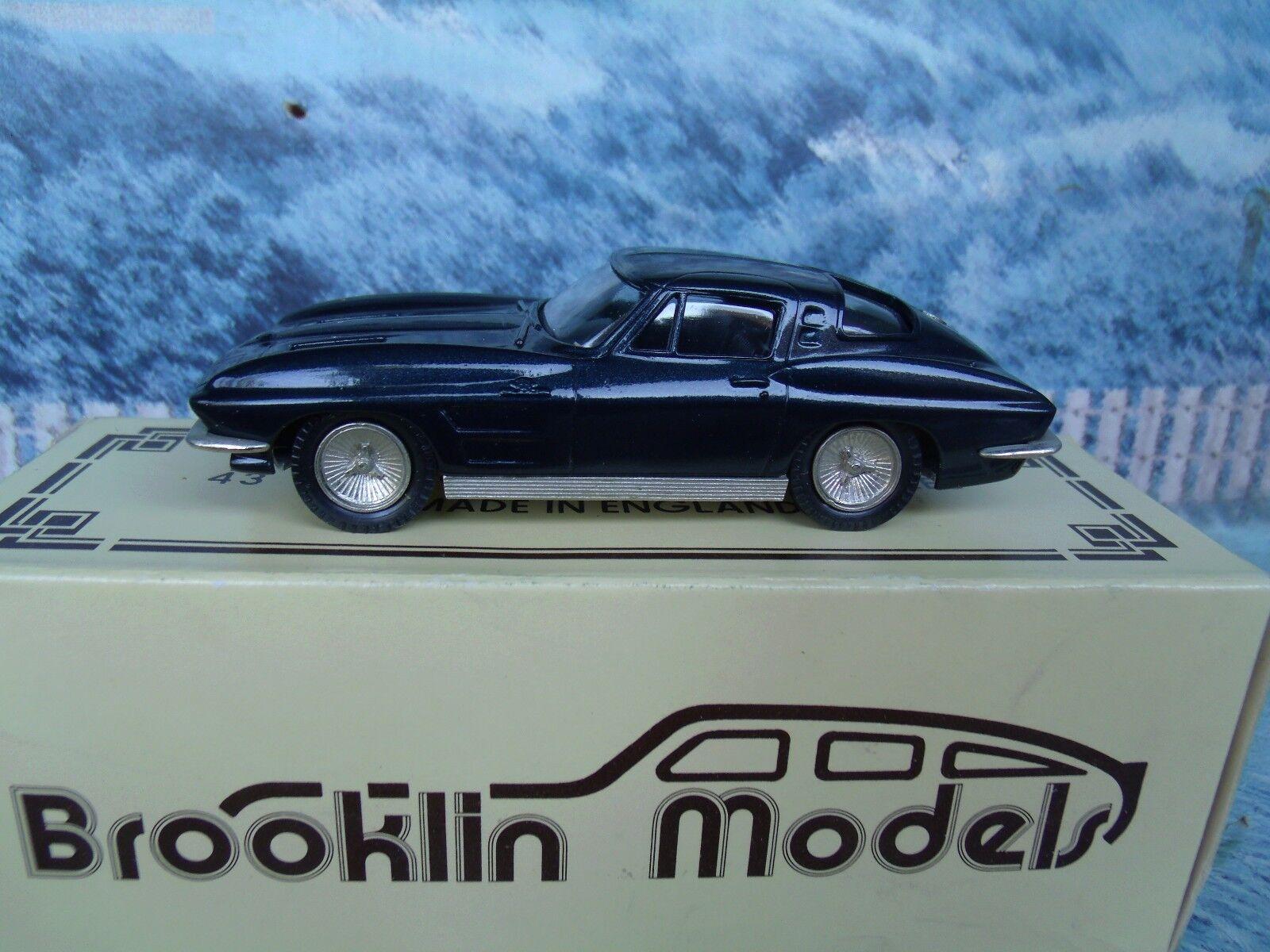 1 43 BROOKLIN MODELS CHEVROLET CORVETTE 1963