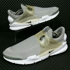 cheap for discount abab8 d974e Details about Nike Sock Dart (Men's Size 11) Athletic Sneaker Shoes Gray  White