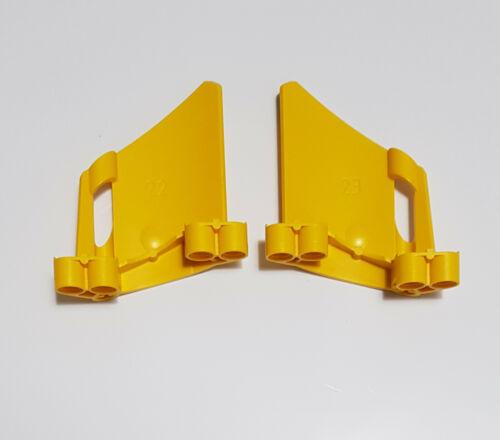 44353 ailes 22+23 jaune technique 22 2x LEGO TECHNIC panel 44352 23