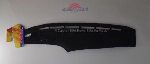 Black Dashmat for TOYOTA Landcruiser 80 Series xtra vent 1//93-12//94 Dash Mat