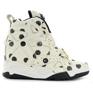 Reebok Women's ME X Blacktop Pump Wedge Shoes M48395 NEW!