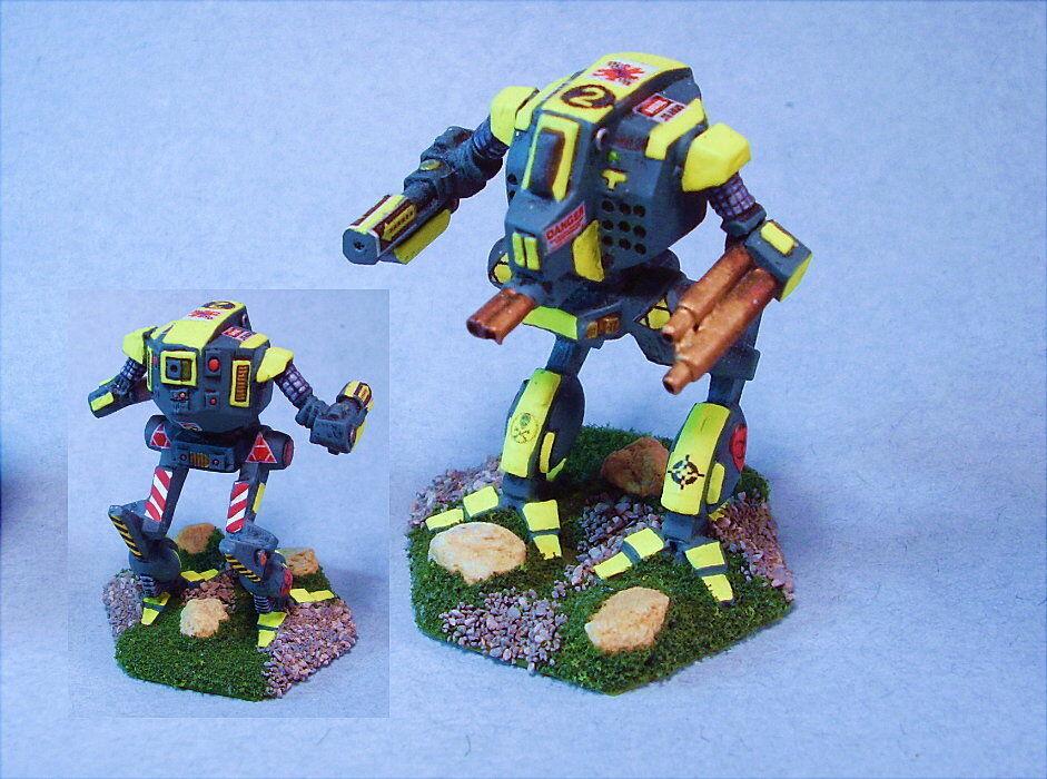 Battletech painted Avatar battlemech YG