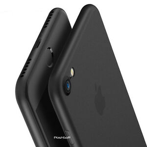 lowest price ef79f 8cb63 Details about Matte Transparent Ultra-Thin Slim Case Cover Skin for iPhone  X Xs/Max, 8 PLUS, 7