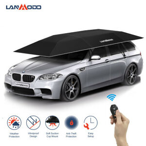 Lanmodo-Automatic-Car-Umbrella-Tent-Remote-Control-Portable-Waterproof-Car-Shade