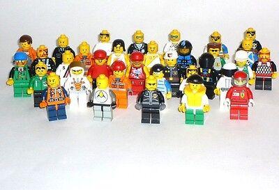LEGO® 10 Figuren  Figur, Figuren, City, , Ritter, Piratenusw.