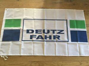 Deutz Fahr agri tractors workshop flag banner