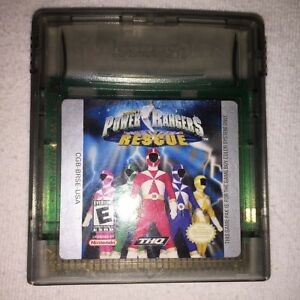 Power Rangers Lightspeed Rescue (Game Boy Color ...