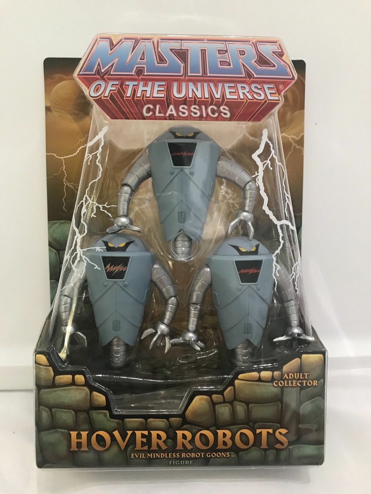 Masters of the Universe MOTU He-Man Classics Hover Bots brand new with mailer