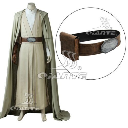 The Last Jedi Luke Skywalker Belt with Bag Cosplay Halloween New Custom MadeSize
