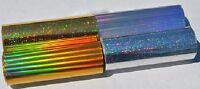 Heat Transfer Foil Laser Toner Metallic 100-ft Roll Holographic 8 Or 4 Us Made