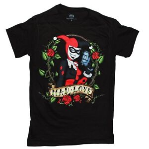 45613f8be3e DC Comics Harley Quinn MAD LOVE T Shirt Adult Unisex Sizes S to 3XL ...