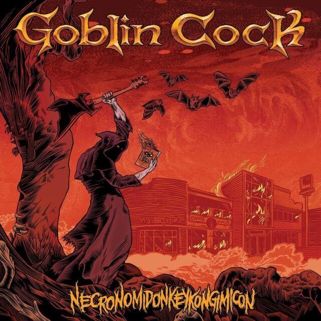 GOBLIN COCK - NECRONOMIDONKEYKONGIMICON (LIMITED   VINYL LP NEU