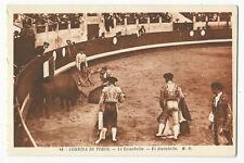 Bullfighting/Corrida de Toros - El descabello - Vintage postcard