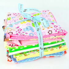 750 g Remnant Bundle, 100% Cotton, Children Themed Fabrics, spots, stripes etc.