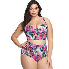 0de4f23f34e3c item 2 PLUS SIZE Womens Swimwear High Waist Bikini Set Push-up Padded  Swimsuit Bathing -PLUS SIZE Womens Swimwear High Waist Bikini Set Push-up  Padded ...