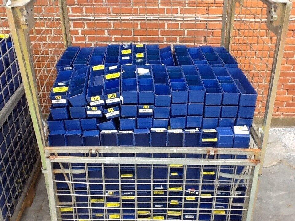 Lagerskuffe / lagerkasse L 400 x B 95 x H 80 mm